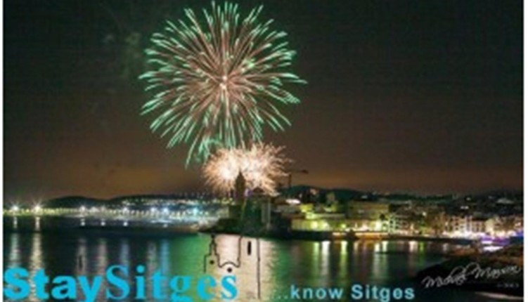 holiday apartments in sitges, fiesta mayor
